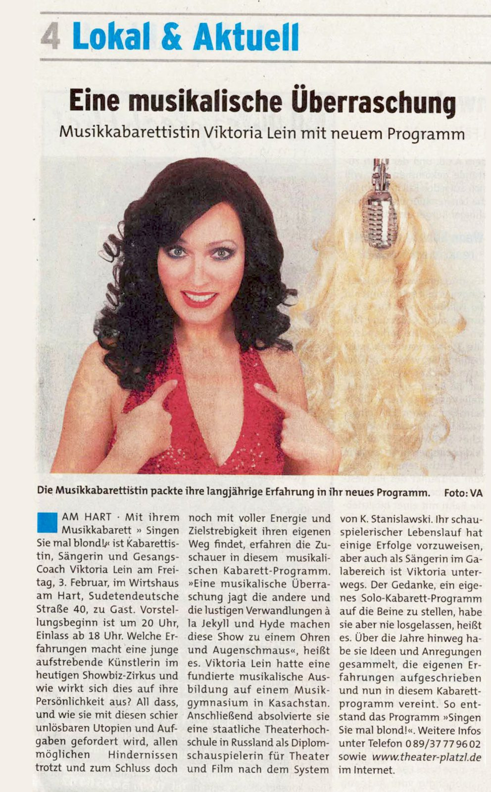 musik kabarett frauen in München